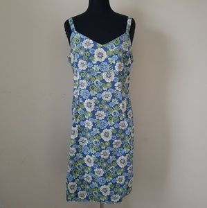 Sleeveless Floral Dress Size 18